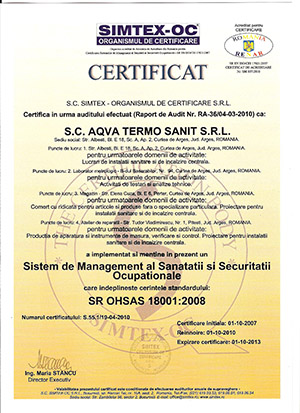 iso - ohsas_18001 2008